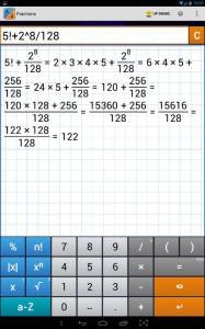 Fraction Calculator 2